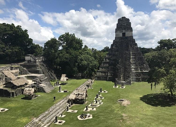 Tikal Gwatemala ciekawostki atrakcje Ameryka Środkowa