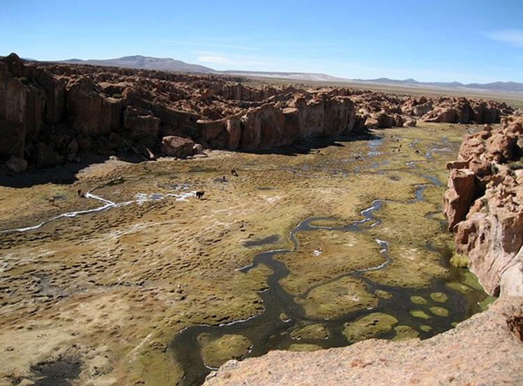 Valle de Rocas Boliwia ciekawostki atrakcje Ameryka Południowa
