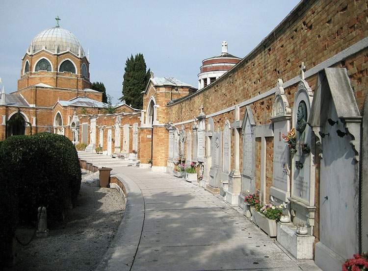Wenecja cmentarz cmentarze ciekawostki historia nekropolie
