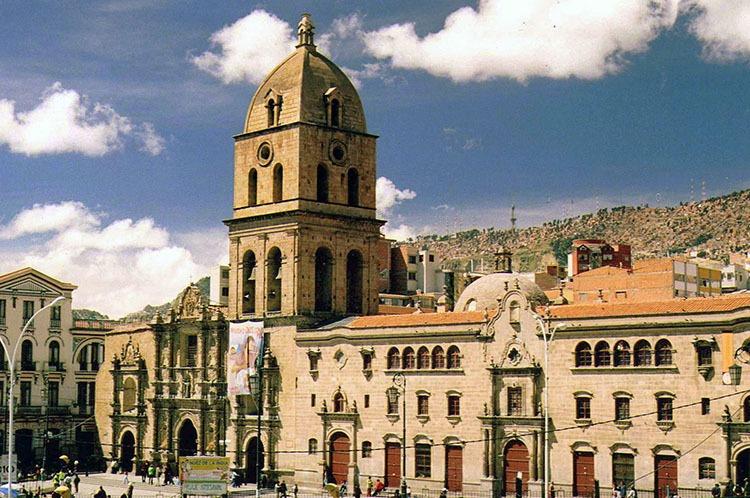 bazylika św. Franciszka La Paz ciekawostki Boliwia atrakcje