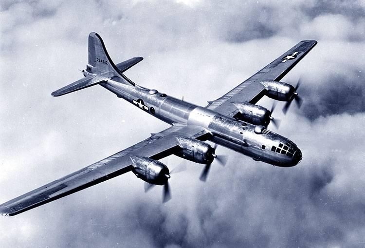 bombowiec B-29 Superforteca Nagasaki ciekawostki miasto Japonia Kiusiu