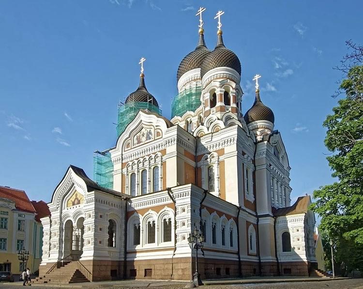 cerkiew prawosławna Aleksandra Newskiego Tallinn Estonia ciekawostki atrakcje zabytki