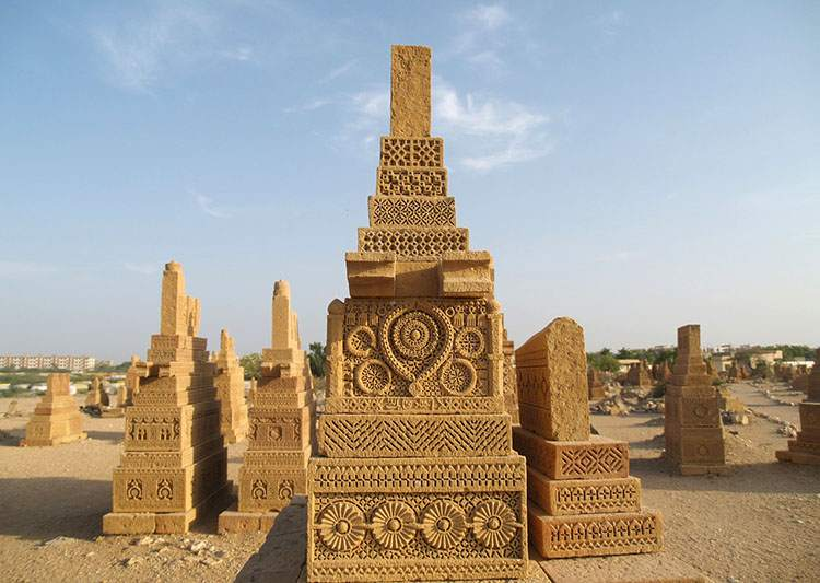 chaukundi Pakistan Karaczi cmentarz cmentarze ciekawostki historia nekropolie