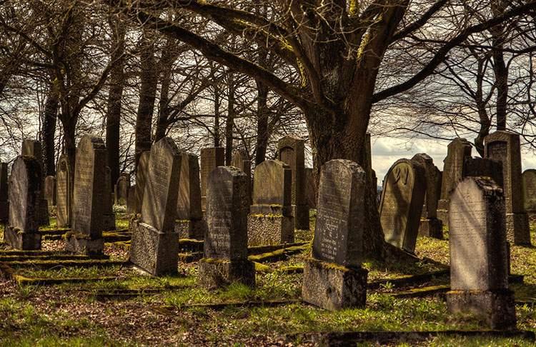 żydowski cmentarz cmentarze ciekawostki historia nekropolie