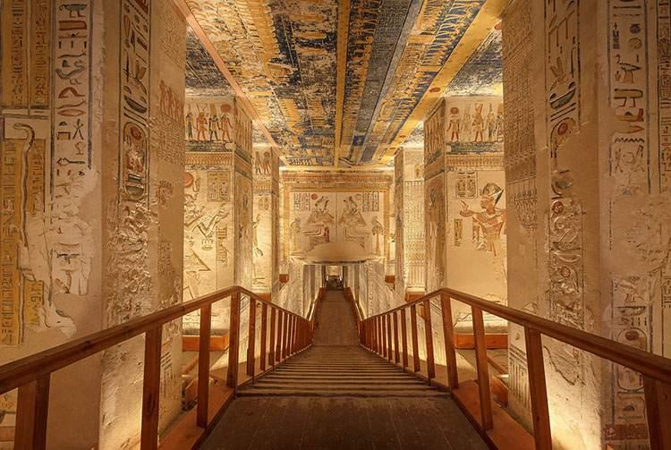 grobowiec starożytny Egipt cmentarz cmentarze ciekawostki historia nekropolie