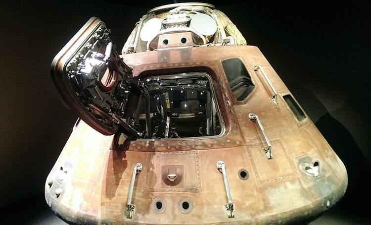kapsuła lądowanie informacje o Księżycu