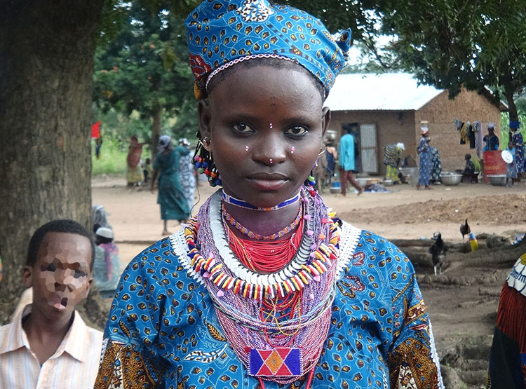 kobieta strój Benin ciekawostki atrakcje
