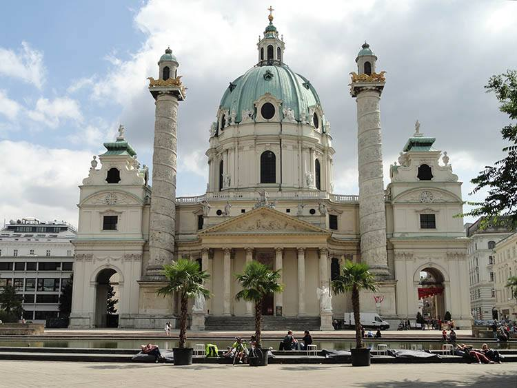 kościół Boromeusza Wiedeń ciekawostki Austria zabytki atrakcje