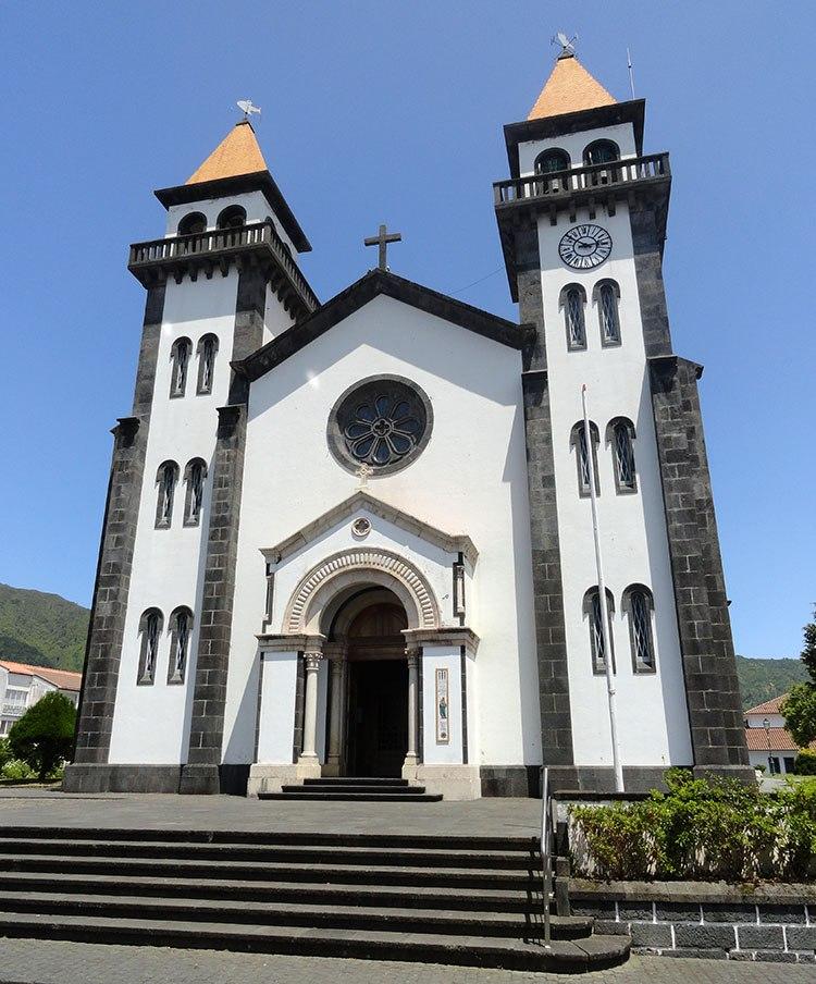 kosciół igreja de Nossa Senhora da Alegria Furnas atrakcje ciekawostki