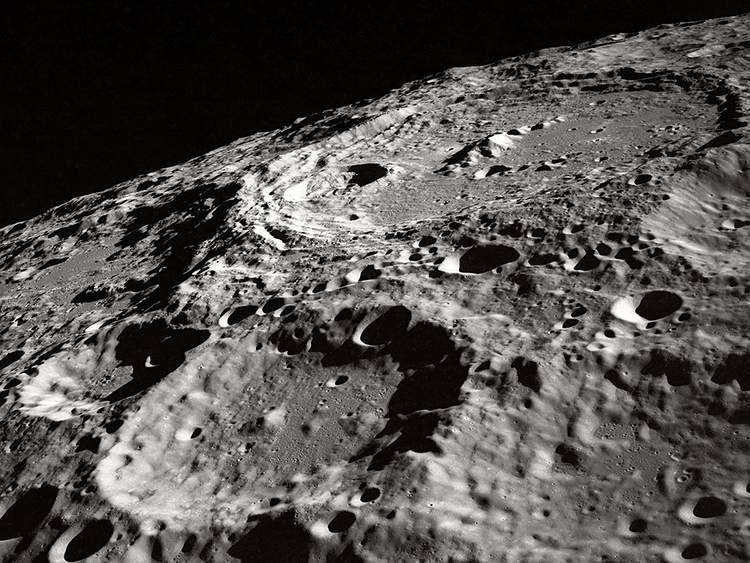 kratery powierzchnia Księżyc ciekawostki o Księżycu