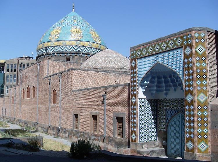 meczet Erywań ciekawostki atrakcje zabytki Armenia Yerevan