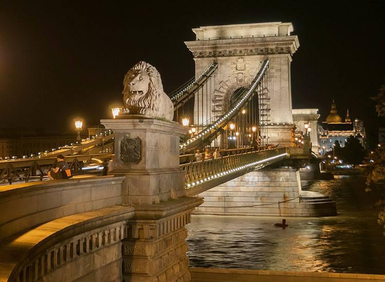 most Budapeszt ciekawostki atrakcje Węgry