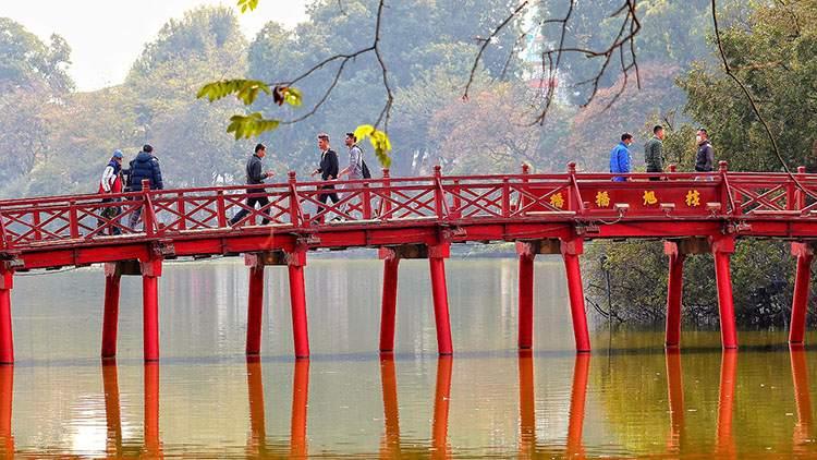 most Hanoi ciekawostki atrakcje Wietnam