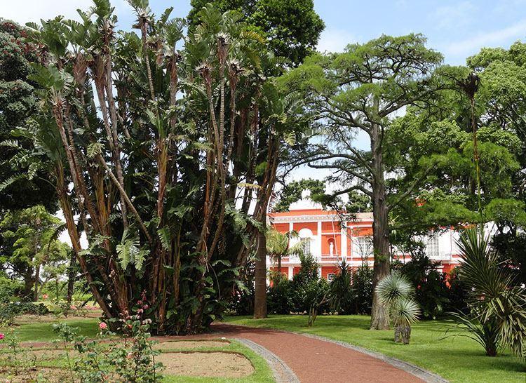 ogród Joe do Canto Ponta Delgada ciekawostki atrakcje Sao Miguel