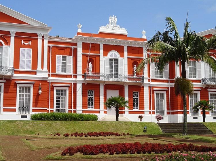 pałac Santa Ana Ponta Delgada ciekawostki Sao Miguel Azory