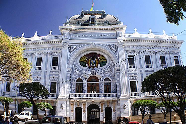 pałac Sucre ciekawostki Boliwia atrakcje zabytki