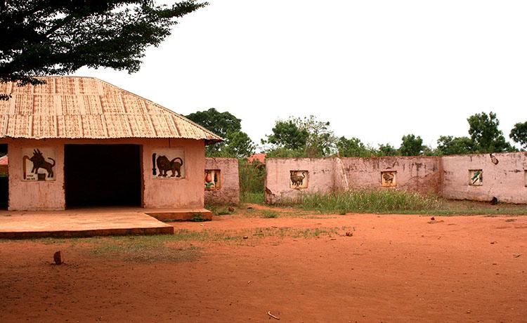 Abomey pałac królewski Benin ciekawostki atrakcje Afryka