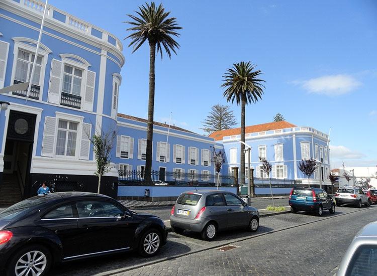 pałac rząd wrota Ponta Delgada ciekawostki Sao Miguel Azory atrakcje