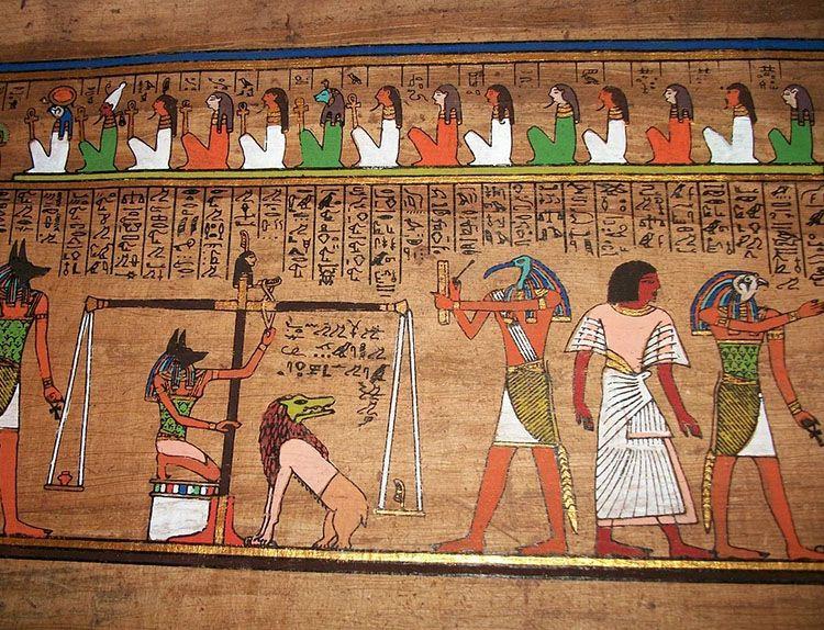 papirus starożytny Egipt prezerwatywy historia  kondomy ciekawostki prezerwatywa antykoncepcja
