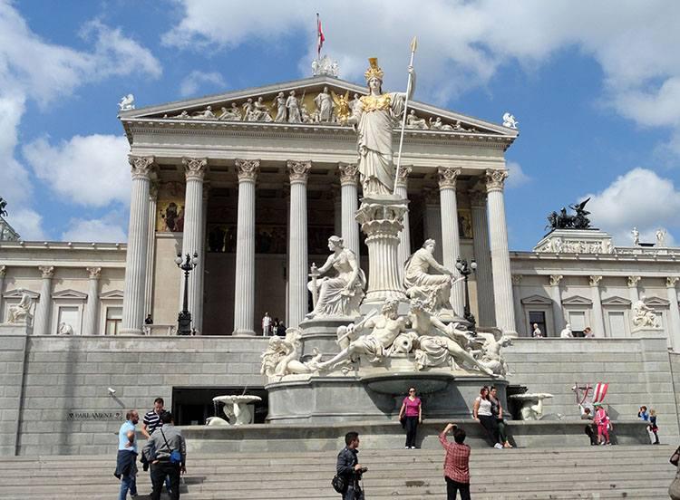 parlament Wiedeń ciekawostki Austria zabytki atrakcje
