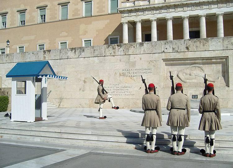 parlament zmiana warty Ateny Grecja ciekawostki atrakcje zabytki