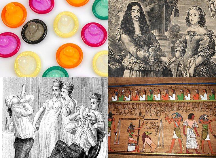 prezerwatywy historia kondomy ciekawostki prezerwatywa antykoncepcja