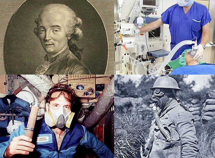 respirator ciekawostki historia respiratory oddychanie działanie