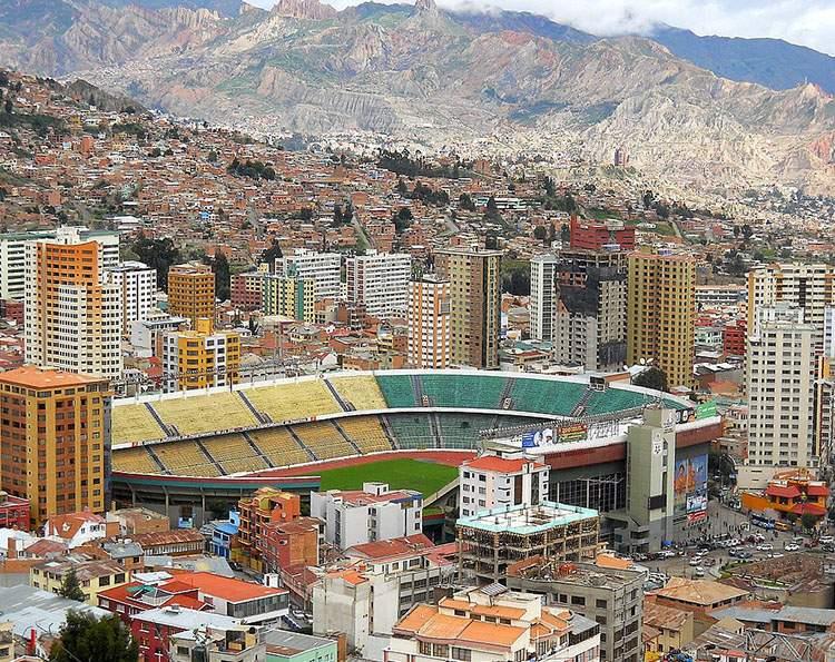 stadion Hernando Sile Stadium La Paz ciekawostki Boliwia atrakcje
