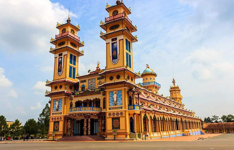 świątynia Kaodaizm Wietnam ciekawostki atrakcje zabytki