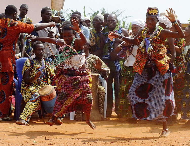 taniec voodoo Benin ciekawostki atrakcje Afryka