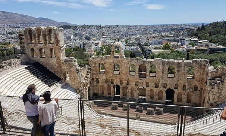 teatr Akropol Ateny Grecja ciekawostki atrakcje zabytki