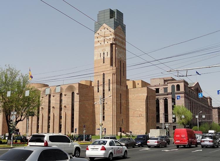Urząd Miasta Erywań ciekawostki atrakcje zabytki Armenia Yerevan