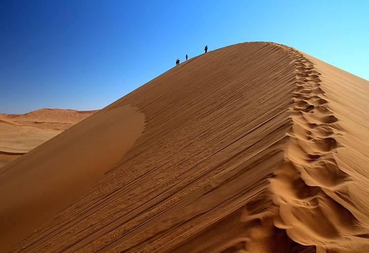 wydmy pustynia Namibia ciekawostki atrakcje Afryka