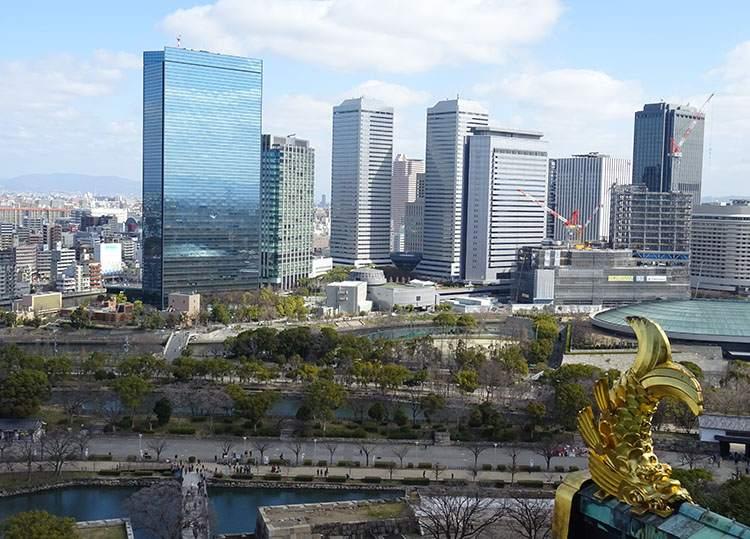 zamek Osaka ciekawostki historia Japonia zamki japońskie