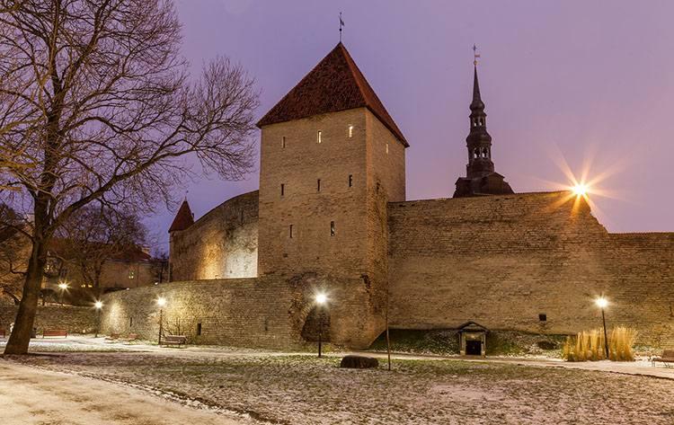 zamek Tallinn Estonia ciekawostki atrakcje