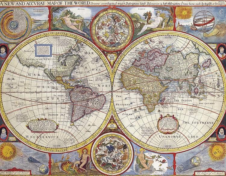 1626 świat mapa mapy ciekawostki historia kartografia