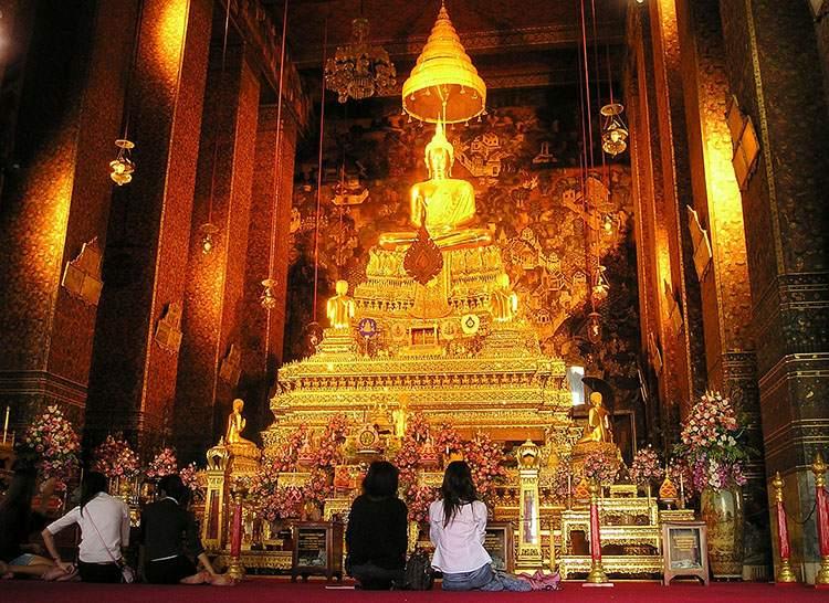 Bangkok Tajlandia złoty Budda złoto ciekawostki o złocie