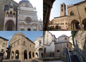 Bergamo Lombardia Włochy ciekawostki atrakcje zabytki