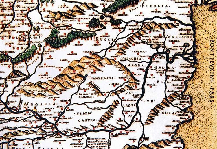 Bernard Wapowski mapa mapy ciekawostki historia kartografia