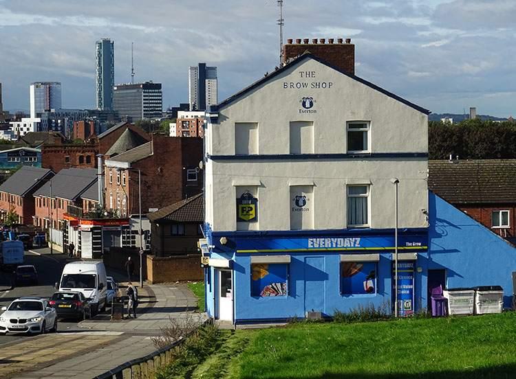 Brow Shop Everton ciekawostki Liverpool dzielnica
