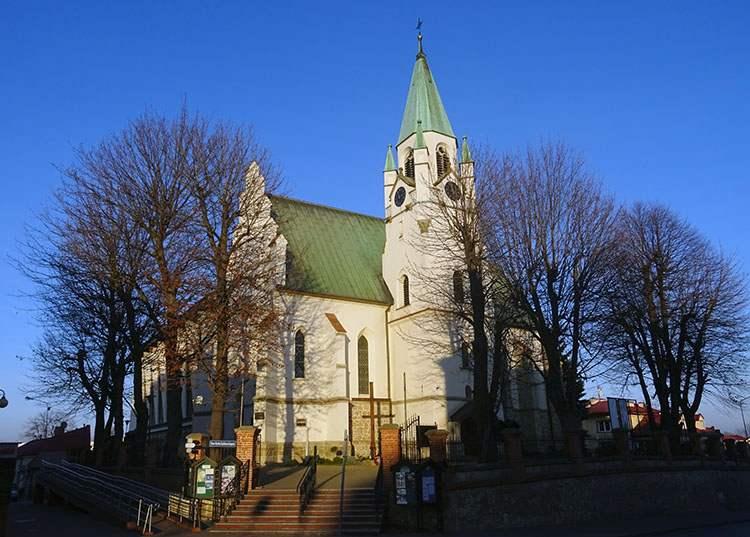 Brzesko ciekawostki historia zabytki kościół