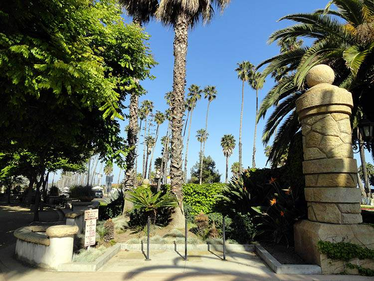 Chase Palm Park Santa Barbara Kalifornia ciekawostki atrakcje
