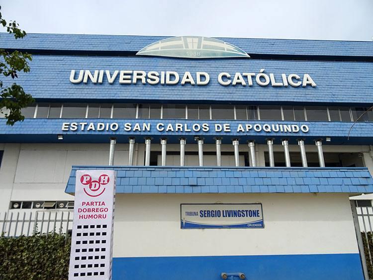 Club Deportivo Universidad Catolica Estadio San Carlos de Apoquindo Santiago Chile