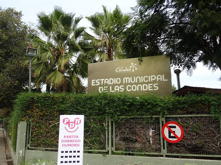 Estadio Municipal De Las Condes Santiago Chile