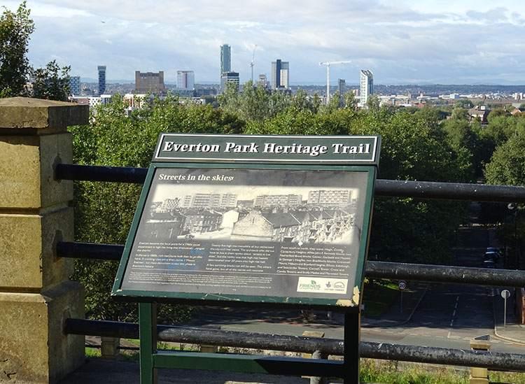 Everton Park ciekawostki Liverpool dzielnica