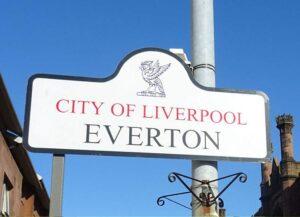 Everton ciekawostki Liverpool dzielnica