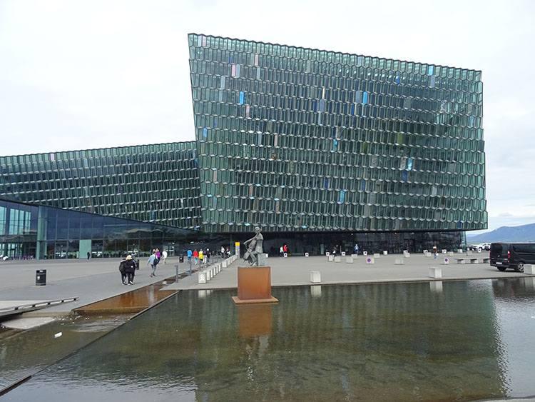 Harpa Reykjavik atrakcje ciekawostki Islandia