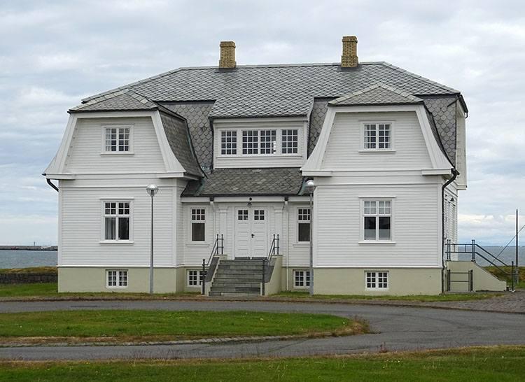 Hofdi House Reykjavik atrakcje ciekawostki Islandia