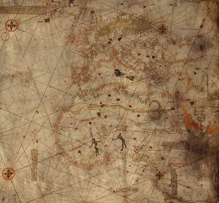 Krzysztof Kolumb mapa mapy ciekawostki historia kartografia