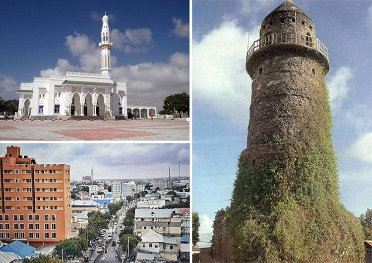 miasto Mogadiszu ciekawostki atrakcje Somalia Afryka Mogadishu